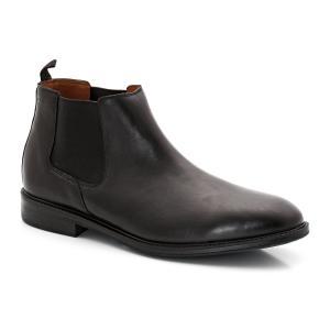Ботинки кожаные Chilver Top CLARKS. Цвет: черный