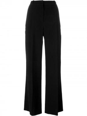 Классические широкие брюки Givenchy. Цвет: черный