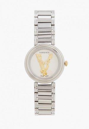 Часы Versace VET300621. Цвет: серебряный