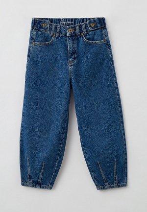 Джинсы Pepe Jeans QUEENS SLOUCHY. Цвет: синий