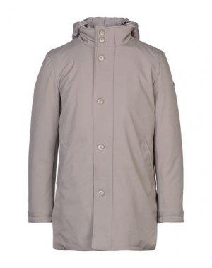 Пальто HENRY COTTON'S. Цвет: серый