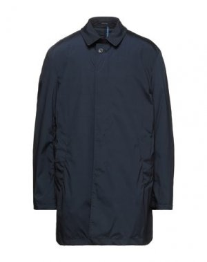Легкое пальто ANGELO NARDELLI. Цвет: темно-синий