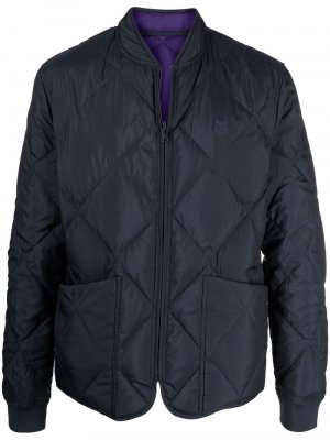 Quilted padded down jacket Kenzo. Цвет: синий