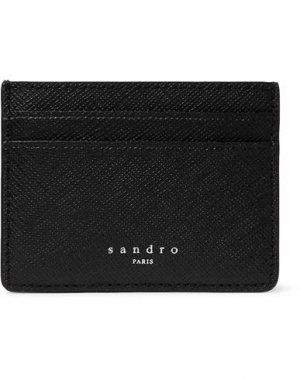 Чехол для документов SANDRO. Цвет: черный