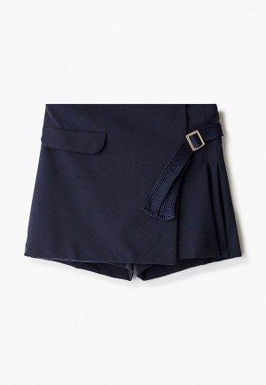 Юбка-шорты Acoola. Цвет: синий