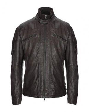 Куртка ANGELO NARDELLI. Цвет: темно-коричневый