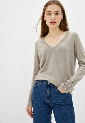 Пуловер Rodier. Цвет: бежевый