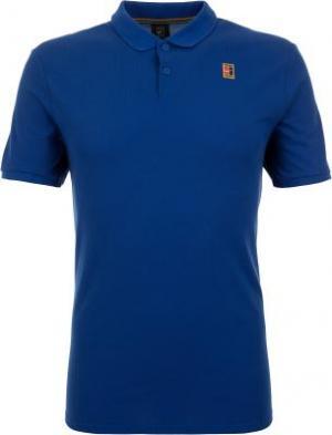 Поло мужское Heritage, размер 44-46 Nike. Цвет: синий