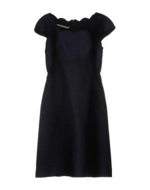 Платье до колена AQUILANO-RIMONDI. Цвет: темно-синий