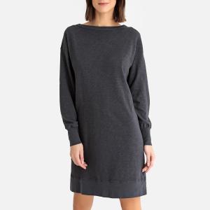 Платье-пуловер с длинными рукавами SONOMA AMERICAN VINTAGE. Цвет: серый меланж,черный