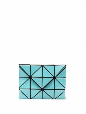 Бумажник с геометричными вставками Issey Miyake. Цвет: синий