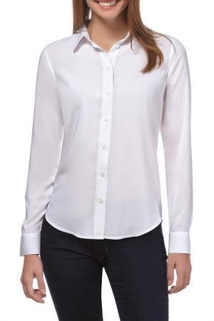 Блуза Vincenzo Boretti. Цвет: белый