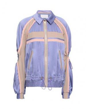 Куртка PETER PILOTTO. Цвет: сиреневый
