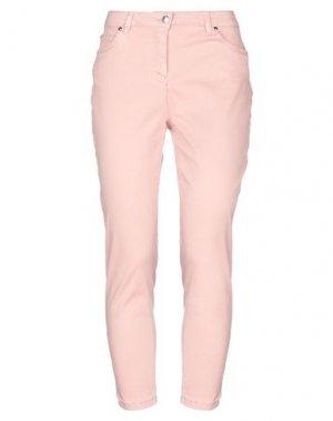 Повседневные брюки CLIPS MORE. Цвет: розовый