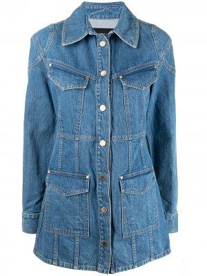 Джинсовая куртка Alamo Slvrlake. Цвет: синий