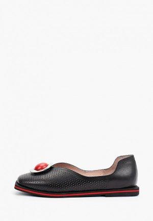Туфли Alterego. Цвет: черный