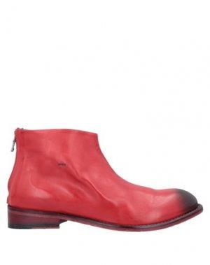 Полусапоги и высокие ботинки JP/DAVID. Цвет: красный
