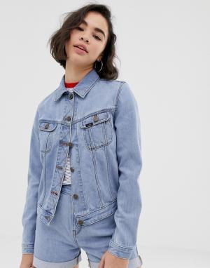 Джинсовая куртка Lee Rider-Синий Jeans