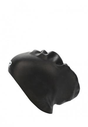 Шапочка для плавания TYR Long Hair Wrinkle-Free Silicone Cap. Цвет: черный