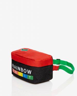 Сумка на пояс Benetton. Цвет: мультиколор