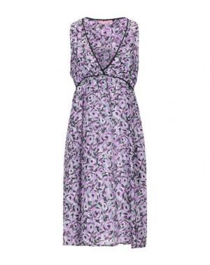Короткое платье FRANCESCA FERRANTE. Цвет: фиолетовый