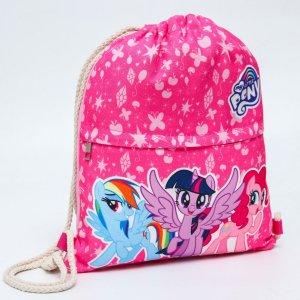 Мешок для обуви, my little pony Hasbro