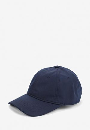 Бейсболка Lacoste. Цвет: синий
