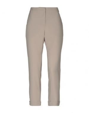 Повседневные брюки HOTEL PARTICULIER. Цвет: бежевый