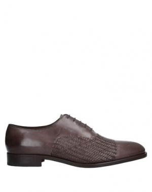 Обувь на шнурках FRATELLI ROSSETTI. Цвет: темно-коричневый
