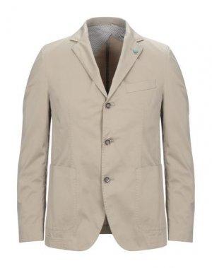 Пиджак BRECO'S. Цвет: бежевый
