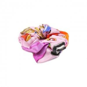 Резинка для волос Versace. Цвет: разноцветный