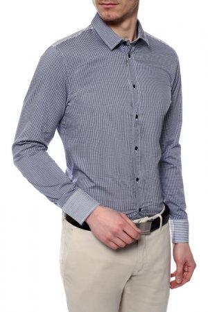 Рубашка Bikkembergs. Цвет: синий