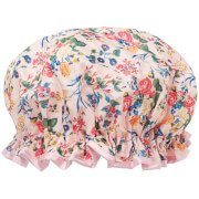 Шапочка для душа Shower Cap — Pink Floral Satin The Vintage Cosmetic Company