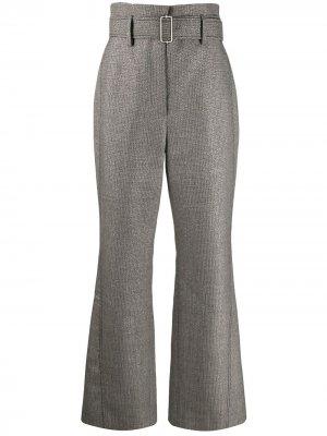 Расклешенные брюки Peter Pilotto. Цвет: серый