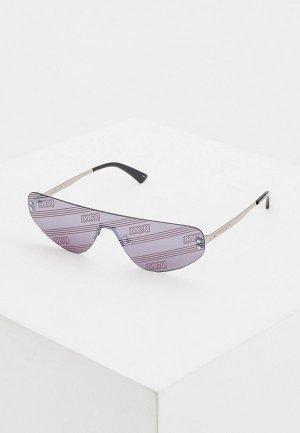 Очки солнцезащитные McQ Alexander McQueen MQ0221S 004. Цвет: серебряный