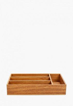 Подставка для кухонных инструментов Мастер Рио. Цвет: бежевый