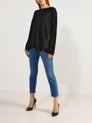 Зауженные джинсы Patrizia Pepe. Цвет: siniy