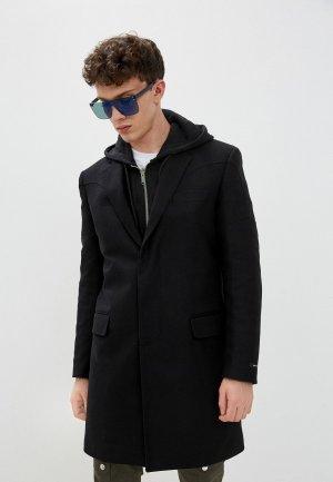Пальто Les Hommes Urban. Цвет: черный