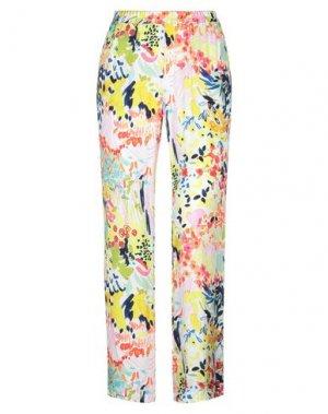 Повседневные брюки JEFF. Цвет: белый
