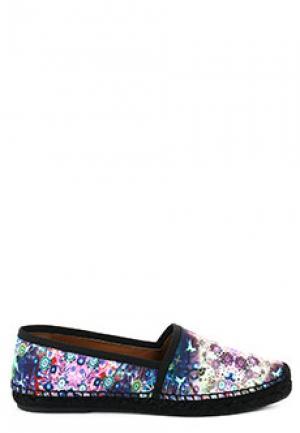 Эспадрильи EMPORIO ARMANI. Цвет: разноцветный