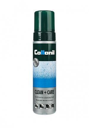 Пена для чистки и ухода Collonil Clean & Care, 200 мл. Цвет: прозрачный