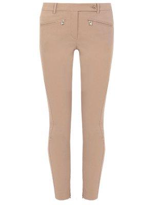 Зауженные брюки из хлопка LORO PIANA