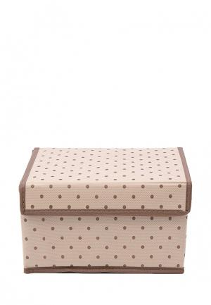 Короб для хранения Homsu Dots. Цвет: бежевый