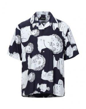 Pубашка BAND OF OUTSIDERS. Цвет: темно-синий