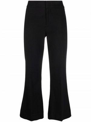 Cropped bell-flared trousers Vince. Цвет: черный