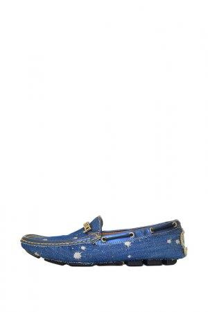 Мокасины Dibrera. Цвет: синий