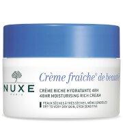 Увлажняющий крем для сухой кожи Crème Fraîche de Beauté Moisturiser for Dry Skin 50 мл NUXE