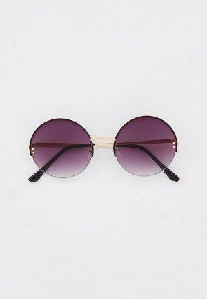 Очки солнцезащитные Fabretti. Цвет: золотой