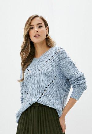 Пуловер Elsi. Цвет: голубой