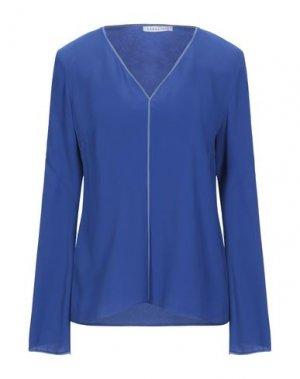 Блузка CARACTÈRE. Цвет: синий